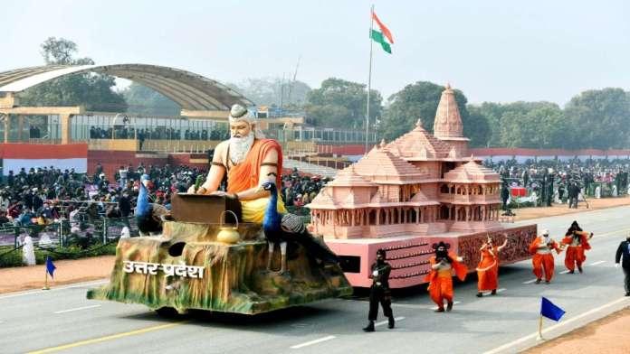 UP Ram Mandir tableau wins first prize