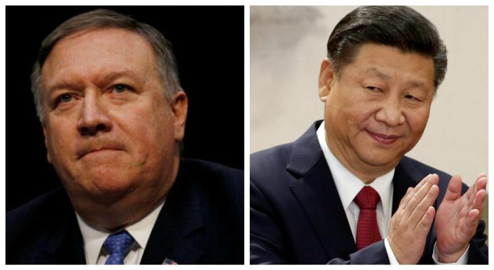 China puts sanctions on Trump administration officials