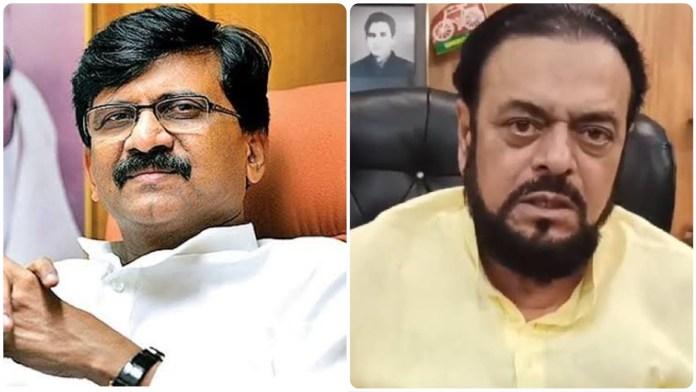 Sanjay Raut exalts Abu Azmi as a wise man after he expressed criticism of its decision to change Aurangabad's name to Sambhaji Nagar