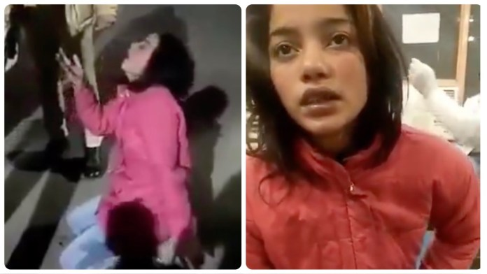 The woman whose video was shared was Congress to allege law and order situation in UP was bad, says nobody assaulted her