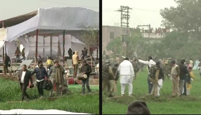 Anti-farm law protestors resort to vandalism, violence in Haryana: Details