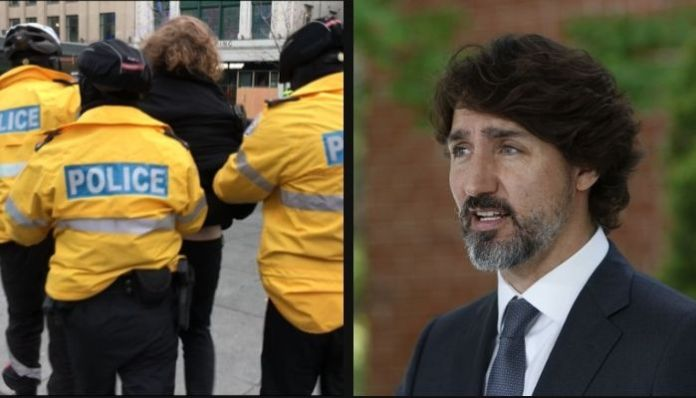 Doublespeak of Justin Trudeau exposed as Canada cracks down on protestors