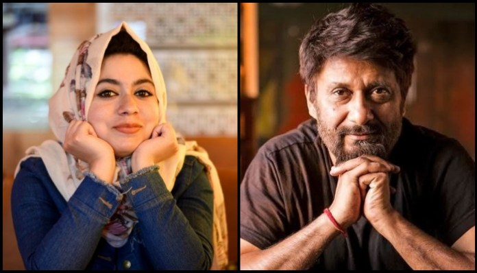 RJ Rafia abused for getting clicked with Vivek Agnihotri in Kashmir: Kashmiriyat?