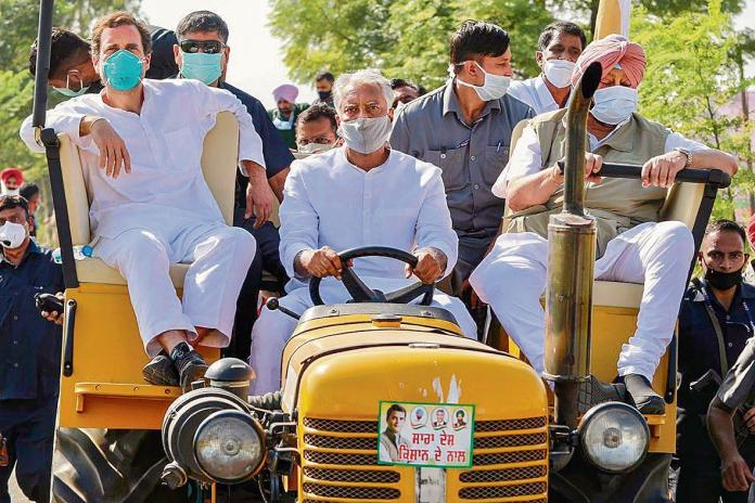 The tractor parade by farmer protesters on Republic Day will mark an occasion where India is under siege, thanks to the efforts of Rahul Gandhi, the Congress Party and the opposition parties