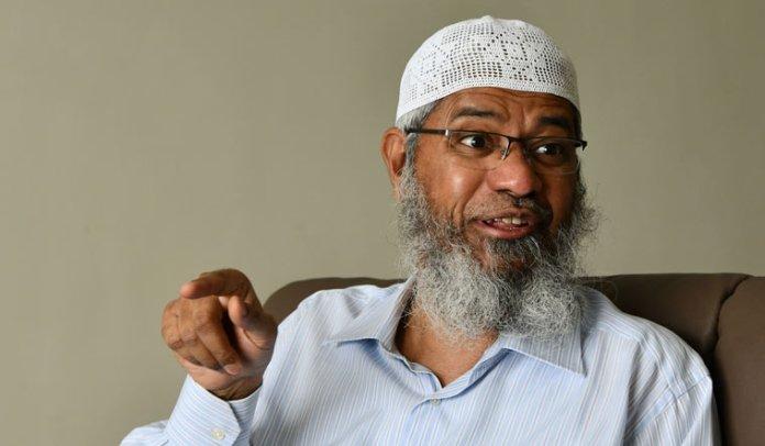 Islamist hate preacher Zakir Naik supports destruction of Hindu Temple in Pakistan
