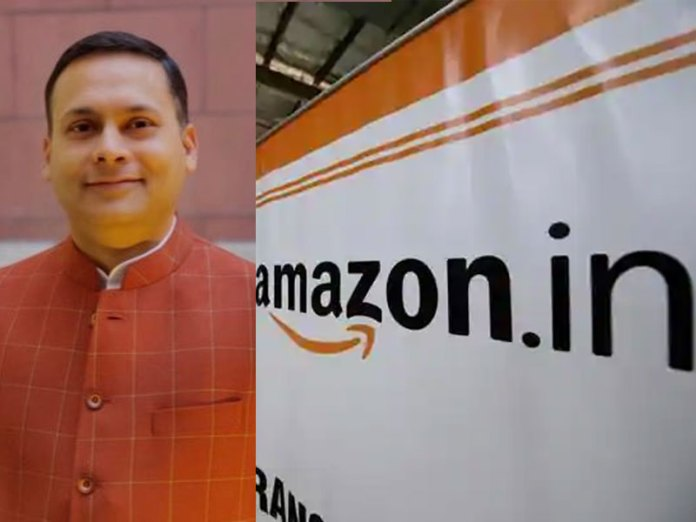 Amit Malviya had written to Amazon's India head over the ideological bias of his employees