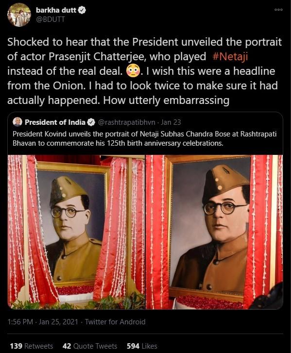 Netaji Prosenjit Chatterjee