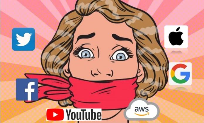 big tech censorship