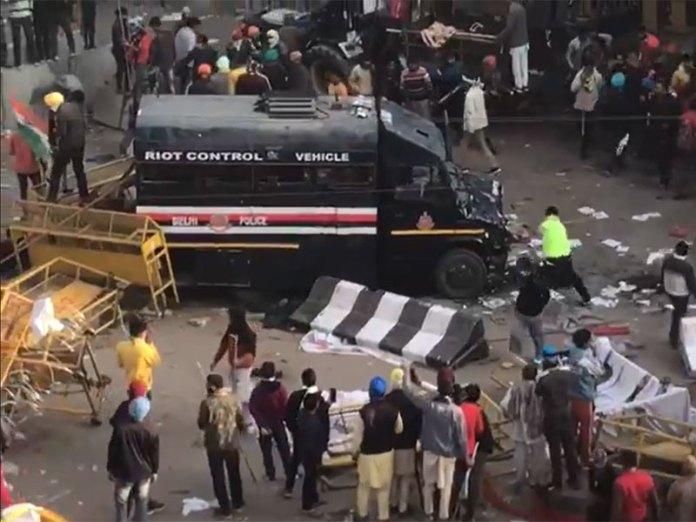 153 police officers injured