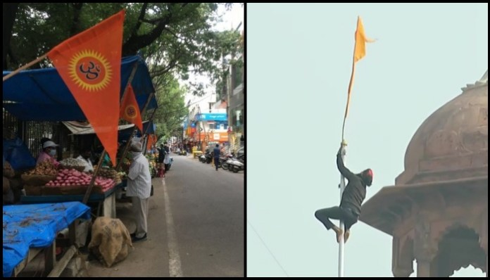 Hindus must ask now if their religious flag atop Lal Quila would be an acceptable sight