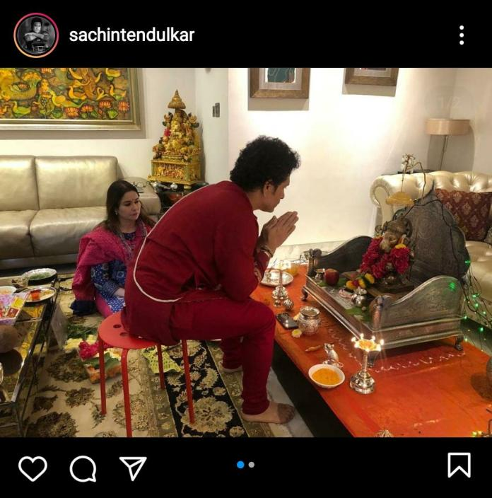 Meena Kandasamy went after Sachin Tendulkar for a photo he shared on the occasion of Ganesh Chaturthi