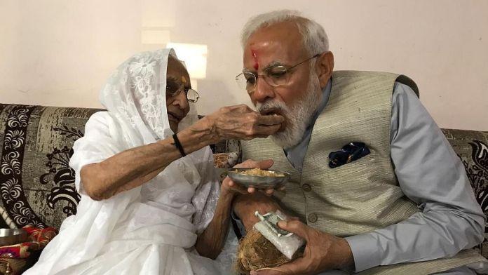 'Protestor' writes to PM Modi's mother Hiraben to get farm laws revoked