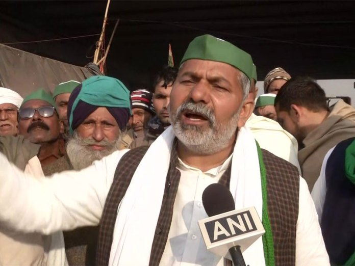 Rakesh Tikait claims 'uneducated people' drove tractors towards Red Fort
