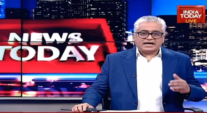 Official Twitter account of India Today on a blocking spree for calling Rajdeep Sardesai a 'dalal'