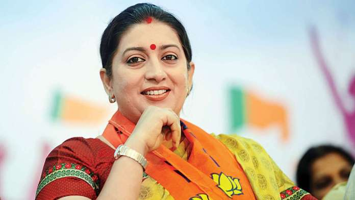 Smriti Irani fulfils her poll promise as she buys a plot in Amethi to construct a home