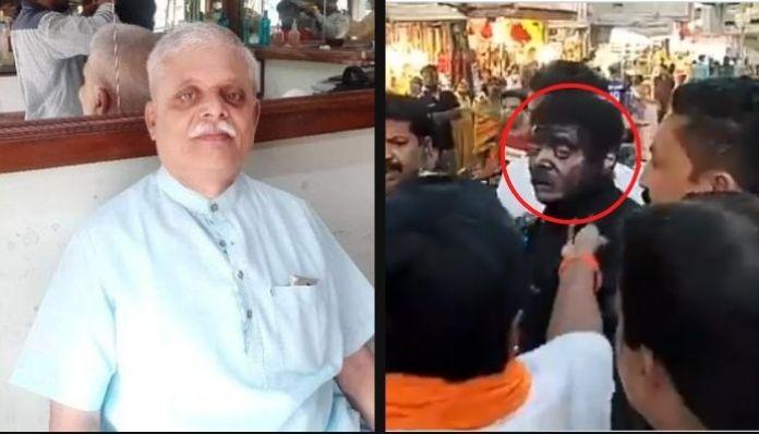 Shiv Sena goons manhandle a senior citizen for criticising Uddhav Thackeray
