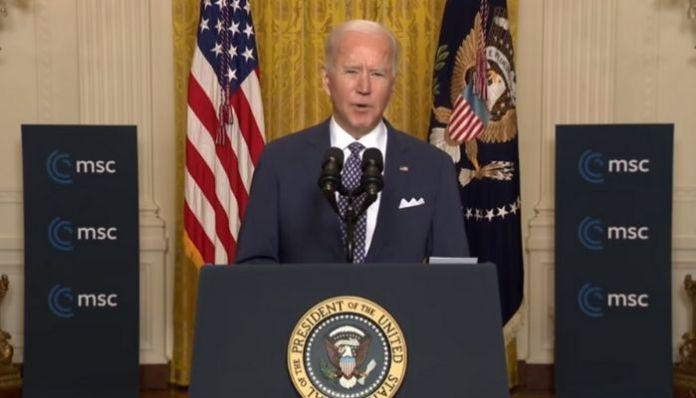 Watch: US President Joe Biden fumbles during speech, says the N-word