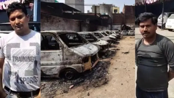 The owner of the parking lot destroyed in Delhi says he is still living in fear and is yet to receive compensation for his losses