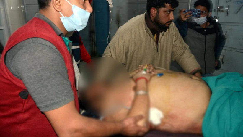 Image result for attack on krishna hotel in kashmir '