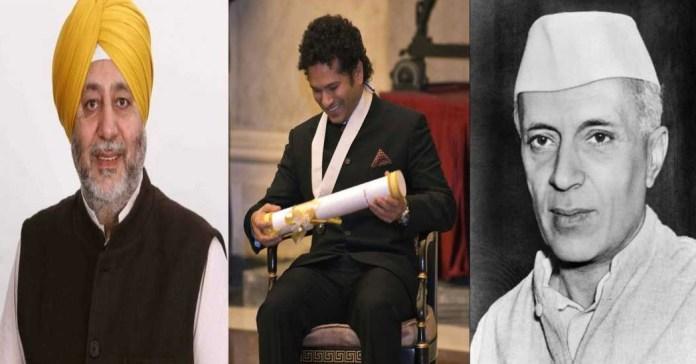 Congress MP Jasbir Gill says Sachin Tendulkar is not deserving of Bharat Ratna