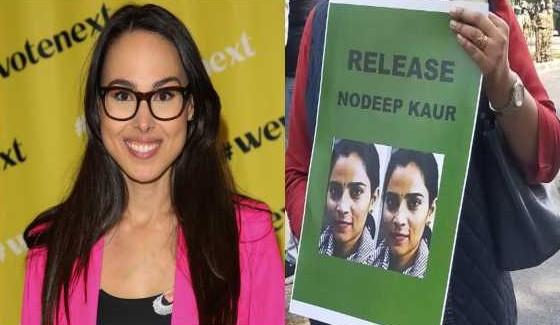 Meena Harris spreads fake news about Nodeep Kaur