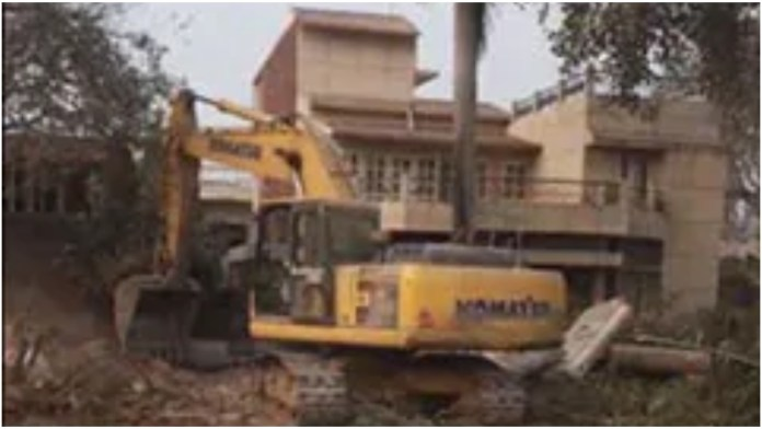 NHAI officials raze compound walls of Prashant Kishor Bihar residence: Read why