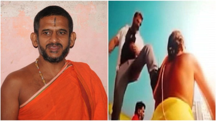 Pejavara seer writes to Karnataka film body, objects to anti-Brahmin insult depicted in 'Pogaru' movie