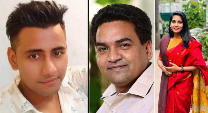 Rinku Sharma, Kapil Mishra, Vaishali Poddar
