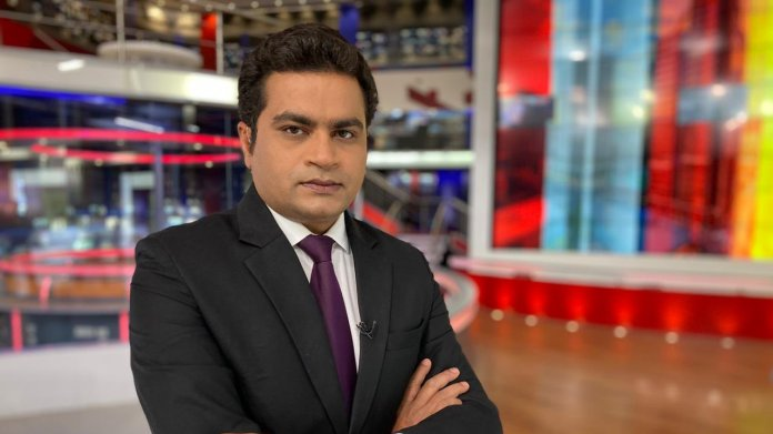Republic TV pays tribute to its late anchor