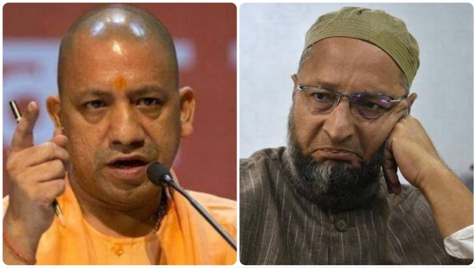 Owaisi fumes as Yogi Adityanath calls Secularism as the biggest threat to India's glorious past traditions