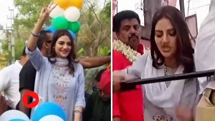 Nusrat Jahan viral video