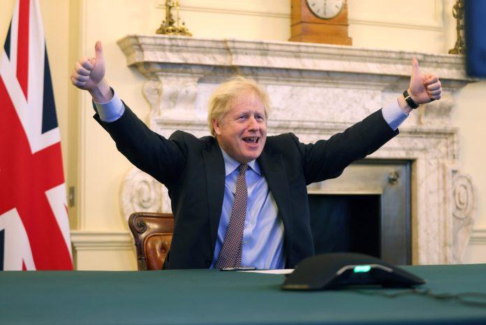 UK PM Johnson to visit India in April