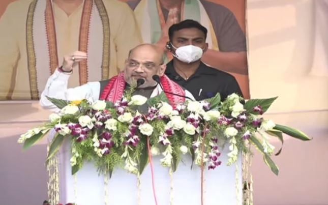 Amit Shah slams Congress'alliance with Badruddin Ajmal