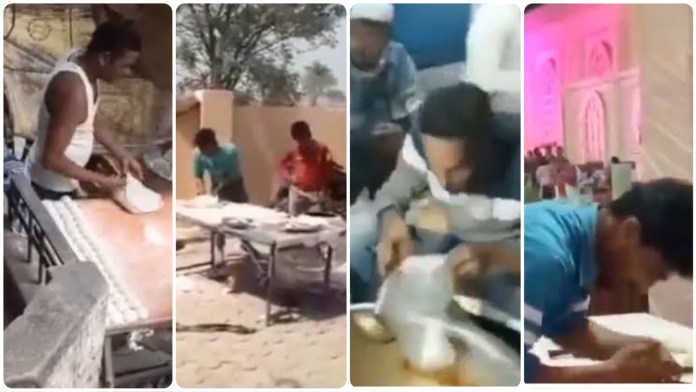 At least 4 incidents when cooks were caught spitting on rotis