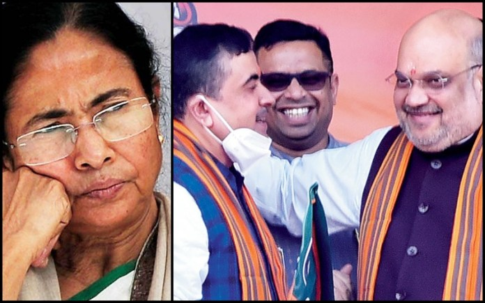 TMC getting nervous in Nandigram? Delegation meets EC to complain about 'voters being threatened'