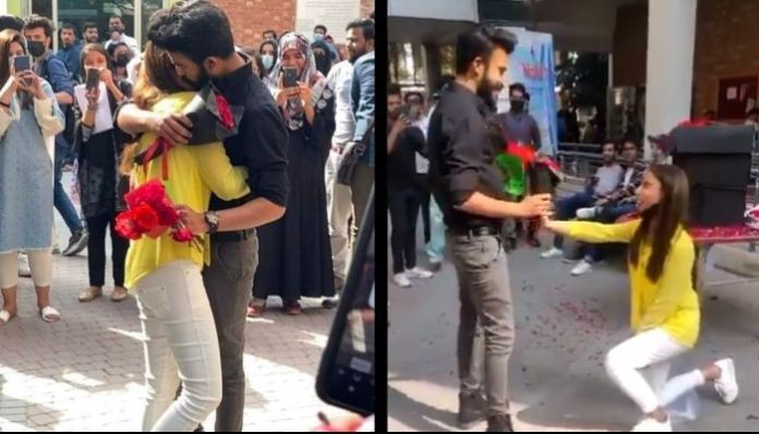 Pakistani university expels students for hugging within the campus