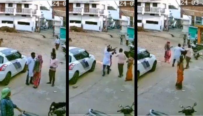 Chattisgarh: Congress councillor thrashes woman in public display in Raipur