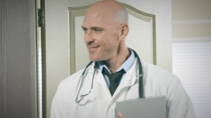 Naomi Wolf conned into believing Johnny Sins is an actual doctor