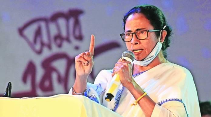 BJP will kill a female party member using UP, Bihar goons : Mamata Banerjee
