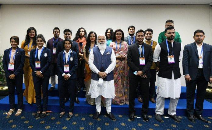 Narendra Modi in Bangladesh