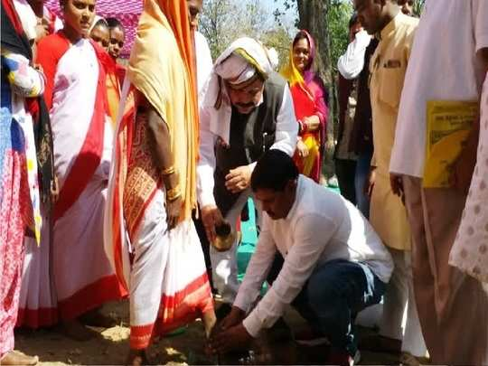 181 tribals in Jharkhand converted back to sarna religion from Christianity