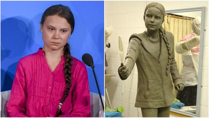 UK university faces criticism for installing Greta Thunberg statue worth 24,000 pounds
