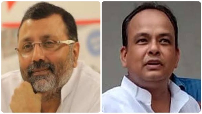 BJP MP and Congress MLA indulge in war of words over the inauguration of Godda railway station
