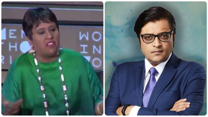 Arnab Goswami had a special message for Barkha Dutt after Sachin Vaze was sent to 14 days of judical custody to Taloja Jail
