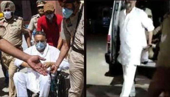 Gangster Mukhtar Ansari, who was ill in Punjab, recovers miraculously in UP
