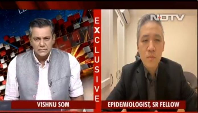 NDTV passes of a 'nutritionist' as Coronavirus expert, predicts 1 million deaths