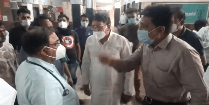 Bhopal: FIR against Congress leaders for threatening, heckling a government doctor on duty