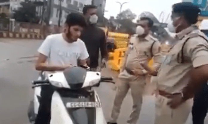 Raipur mayor's nephew caught without mask, misbehaves with policemen