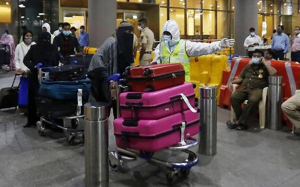 Civic officials at Mumbai airport lined up their pockets by allowing fliers to escape mandatory quarantine