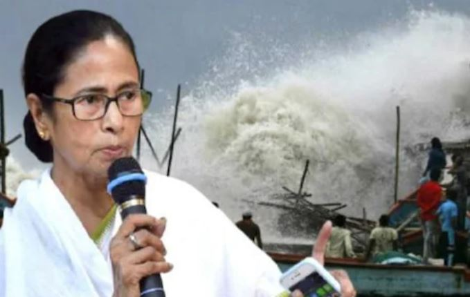 Mamata Banerjee starts complaining over central govt's relief money a day before cyclone Yaas even makes a landfall on Odisha coast